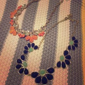 Two Francesca's Statement Necklaces